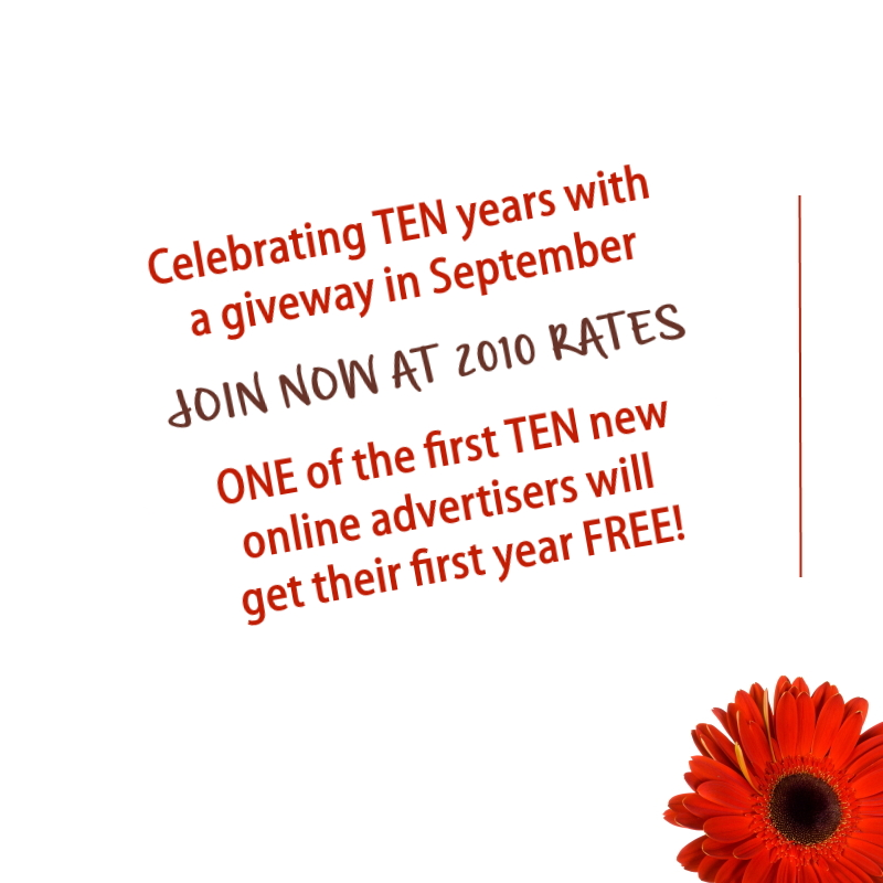2010 rates and giveaway