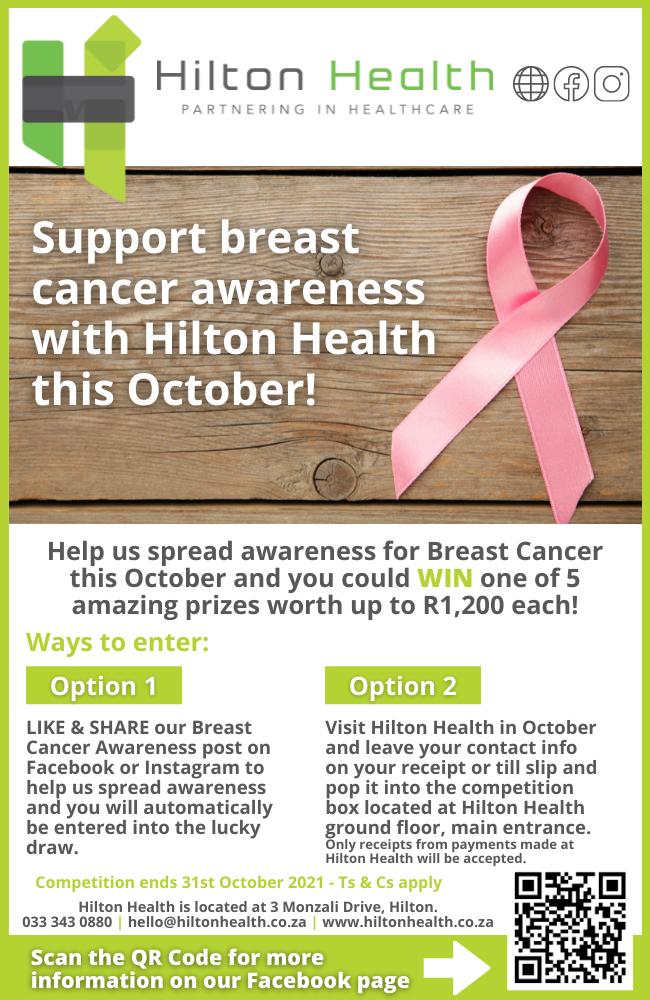 HH HILTON VILLAGE INSERT 650 x 1000 October BREAST CANCER