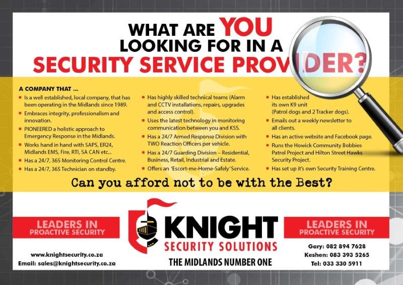 Knight Security Solutions - HiltonVillage co za