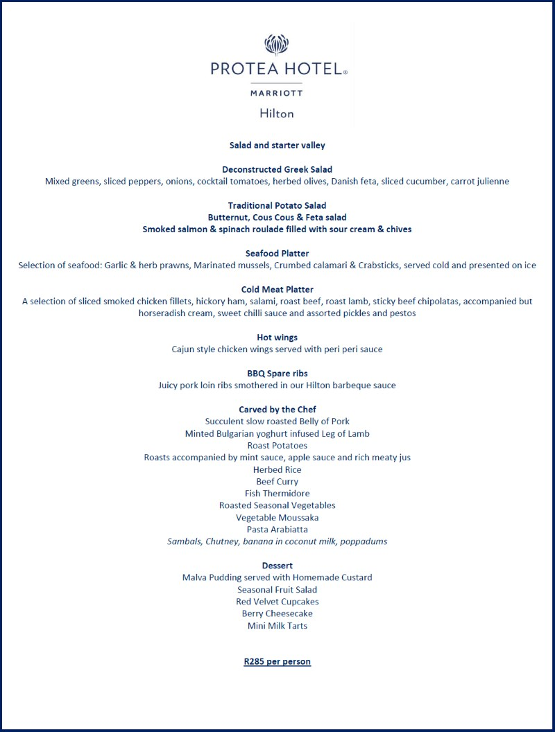 mothers day menu protea hotel800