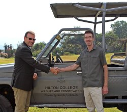 hilton college conservation vehicle