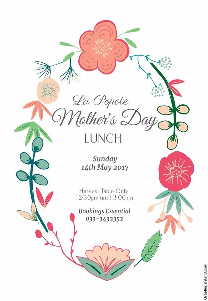 la popote mothers day lunch