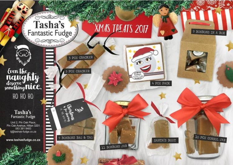tashas fantastic fudge christmas treats 2017