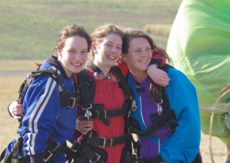st annes skydive for rhinos cover