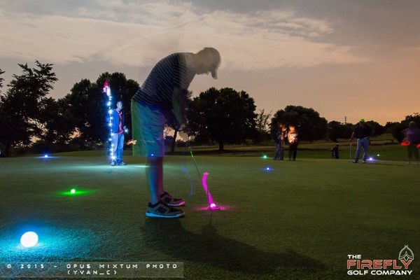 night golf cover