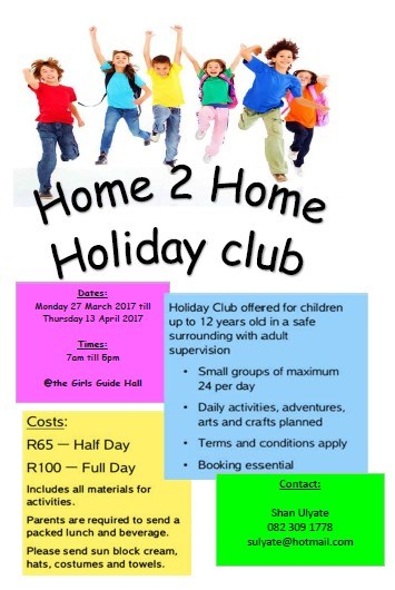 home to home holiday club march2017
