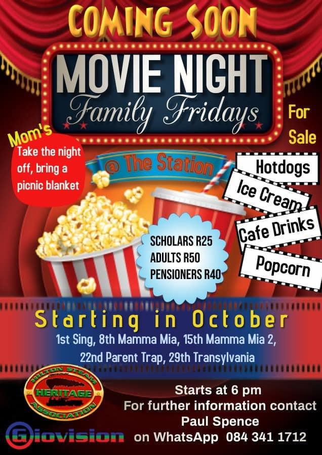 movie night hilton family fridays copy