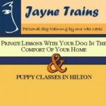 Jayne Trains Puppy Classes
